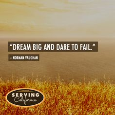 Like if you're ready to #dream big.