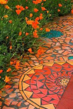 mosaic path by bessie