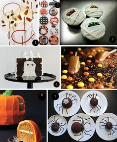 halloween desserts - Click image to find more Holidays & Events Pinterest pins