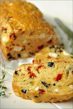 Christmas Cake. A Different Kind.  Really a savory cake that is more like bread and hey...who needs to wait until Christmas.  This sound too yummy to not have all year round!