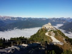 Adolf Hitler's House, Eagle's Nest - Berchtesgaden, Germany--now that was a scary bus ride!