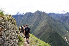 The most famous trail in the world is the picturesque Inca Trail in Peru. The Inca Empire was quite advanced and they built almost 40,000 kilometres of trails to be able to reach the most distant corners of their lands. So the Inca trail in its original state takes four days until it reaches Machu Picchu.