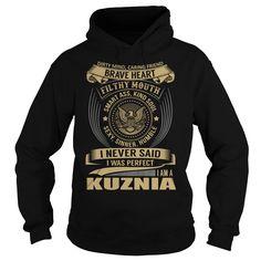 [Cool tshirt name meaning] KUZNIA Last Name Surname T-Shirt Coupon Best Hoodies, Tee Shirts