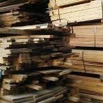 Salvaged wood resources in the Bay area