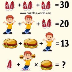 Can you guess the answer? Brain Teasers Pictures, Brain Teasers Riddles, Brain Teasers With Answers, Mind Puzzles, Logic Puzzles, Puzzles For Kids, Funny Mind Tricks, Quiz With Answers, Tricky Riddles