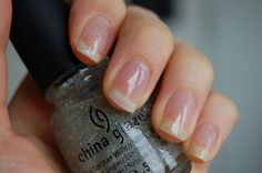 China Glaze - Fairy Dust - Owned China Glaze Nail Polish, Clear Nail Polish, Nail Polishes, Nail Polish Colors, Gel Polish, Glitter Top, Amazing Nails, Finger Nails, Hot Nails