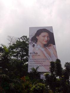 #KaryaJuara Print Ad untuk Erha Clinic