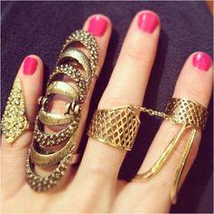 Topshop rings  #TopshopPromQueen #topshop