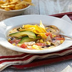 DIABETIC ~ Corn Tortilla Soup