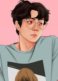 I'm a little bit busy with commissions and projects, but here is one of my favorite Sehun styles 💕💕 this one and my ultimate favorite, his solo in Elyxion concert, if you know what I mean 😏😏. Kaisoo, Chanbaek, Kyungsoo, Exo Anime, Anime Art, Sehun Cute, Exo Fan Art, Boy Drawing, Kpop Drawings