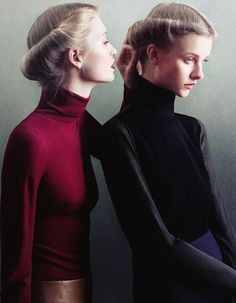 """""""The Sealed Room"""" - Kamila Filipcikova and Maud Welzen photographed by Julia Hetta for Rodeo Fall 2011"""