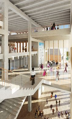 Kingston University London - Grafton Architects