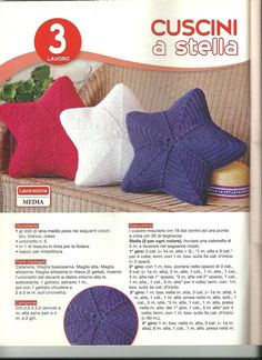 Cuscino stella - Star pillow