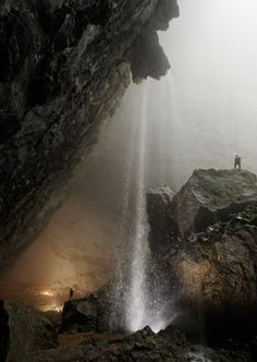 """Hang San Doong, """"mountain river cave"""" in central Viet Nam."""