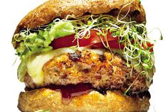 Grill Up This Killer Avocado-Alfalfa Turkey Burger for the Weekend | And everyone will love you for it. Seriously. #SELFmagazine