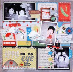 little boy blue paper | Crate Paper - Little Boy Blue