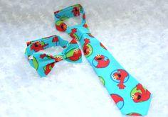 Handmade Elmo adjustable child necktie / by ATARAHSCREATIONS