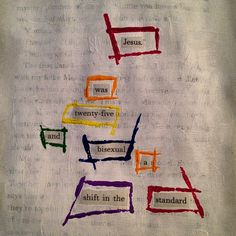 Shifting: Make Black Out Poetry, Black Out Poetry, LGBT