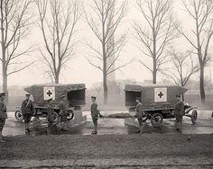 WW1 ambulances