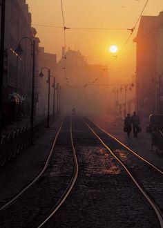 A sunset in Elblag Poland x #city #sunset #elblag #poland