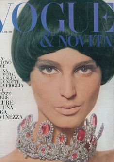 Italian vogue 1965. Always at the forefront of fashion.