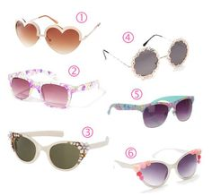 Statement sunnies for spring 2013
