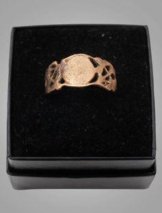 Vintage Antique Victorian Men's Wedding Ring Size 9 3/4 (19.1mm) C.1860-1880 (brr742)