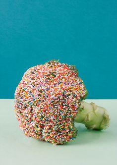 Sweet veggies series: Brocolli sprinkles