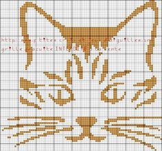 chat - cat - broderie - cross stitch - Point de croix - Blog : http://broderiemimie44.canalblog.com/