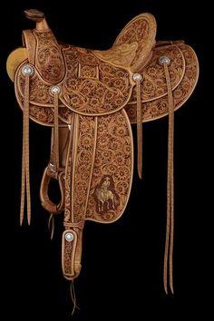 Rick Bean Saddle-SR