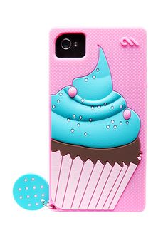 Delight Cupcake iPhone case from Case-Mate. cuteeee!!!!