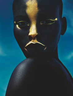 »Jeneil Williams by Txema Yeste for Numeró, February 2014« #photography #beautymakeup #photographyfashion