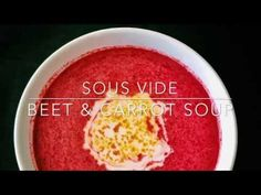 How to Make our Sous Vide Beet and Baby Carrot Soup | Straight From The Root
