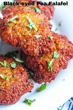 Vegan falafels made with pureed blackeyed peas and herbs fried in peanut oil. Served with spicy chili pepper tahini sauce.