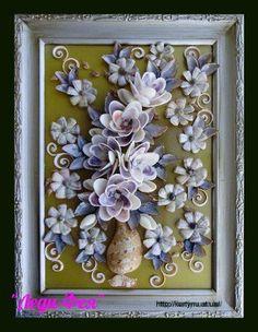 Новости Seashell Art, Seashell Crafts, Shell Flowers, Shell Decorations, Burlap Crafts, Room Ideas Bedroom, Shell Jewelry, Creative Crafts, Sea Shells