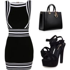 Street Style Trend: Mini Dress by tania-alves on Polyvore featuring Balmain, Miss KG and minidress