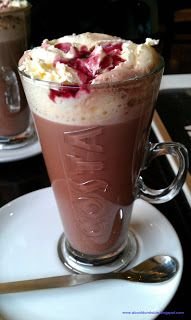Costa Coffee Black Forest Hot Chocolate- why do they only come out at christmas? :( it should be a crime!!!