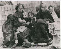 REFUGIADOS CATALANES EN LE PERTHUS.1939.