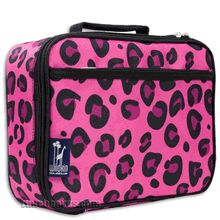 A Beautiful Pink Lunch Box For Those Who Fancy All Things With Leopard Print