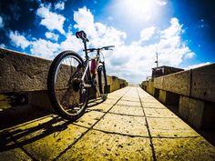 Lisboa, bike e Gopro