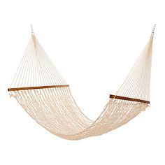 oatmeal all weather rope hammock large outdoor hammocks   179      liked on polyvore featuring sand all weather rope hammock large outdoor hammocks   149      rh   pinterest