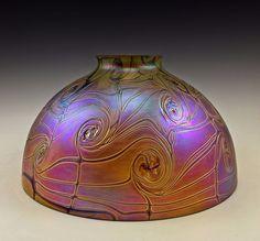 art nouveau jugendstil glass lamp shade antique lamp 10 art