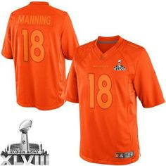 Peyton Manning Limited Jersey-80%OFF Nike Peyton Manning Limited Jersey at Broncos Shop. (Limited Nike Men's Peyton Manning Orange Super Bowl XLVIII Jersey) Denver Broncos #18 NFL Drenched Easy Returns.