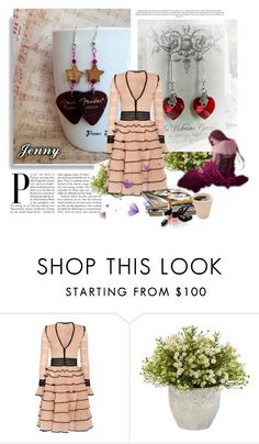"""""""for ladies"""" by smile-2528 ❤ liked on Polyvore featuring Alexander McQueen, Nearly Natural and Chanel"""