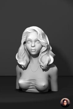 Lucy, 3D Model, 3D Sculpting