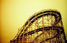 Cyclone . Coney Island, NY . lomography photo by misha ashton moore