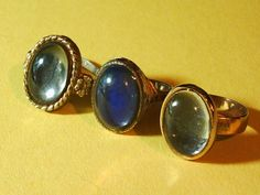 Mood rings... Still have mine! its like the one on the right, I think it was my moms but I always <3ed it she let me have it!