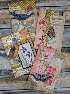 Spring Cluster embellishments journaling junk journaling scrapbook albums