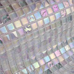 Lustrous Mosaic Tiles - White Mix.