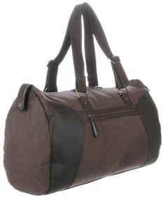 Holdall Bags   Conkca Brown Holdall Bag   @ KJ Beckett #mens #bags